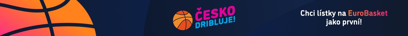 Česko dribluje - nad horním menu
